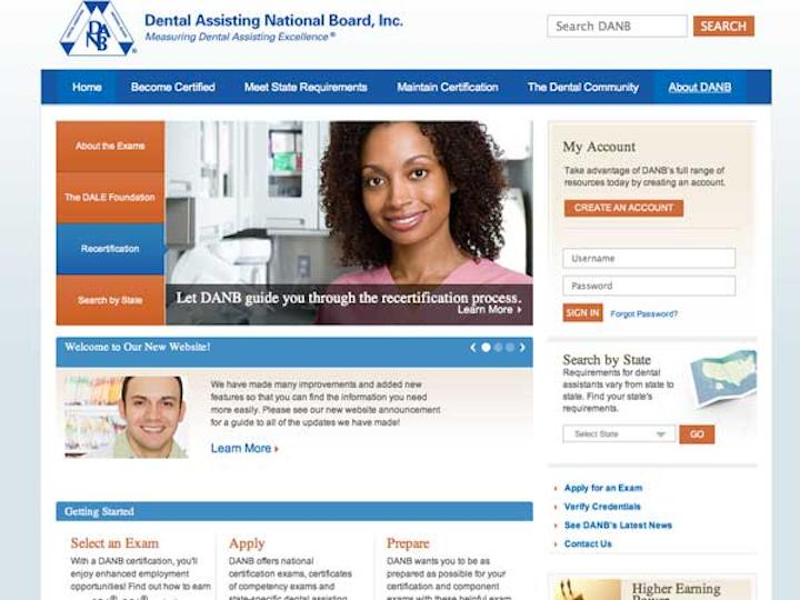 Danbwebsite