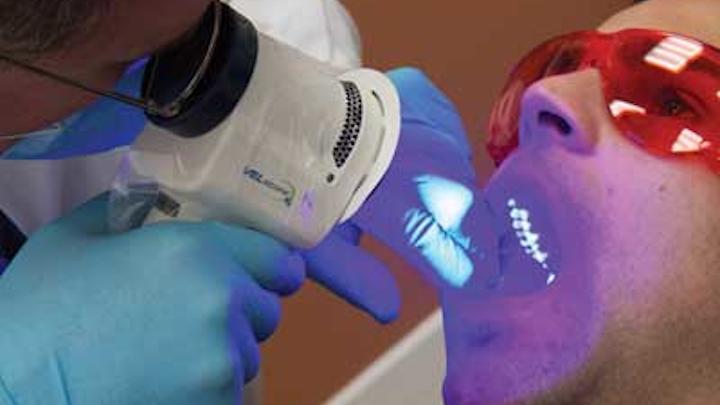 VELscope® Vx Comprehensive Oral Examination. Image Courtesy of LED Dental Inc.