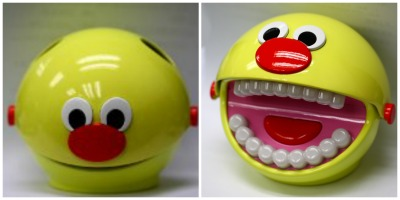 Funds will be used to manufacture and market the educational BrushyBall toothbrush training toy.