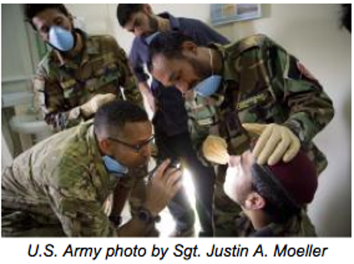 Army Dentists Caption
