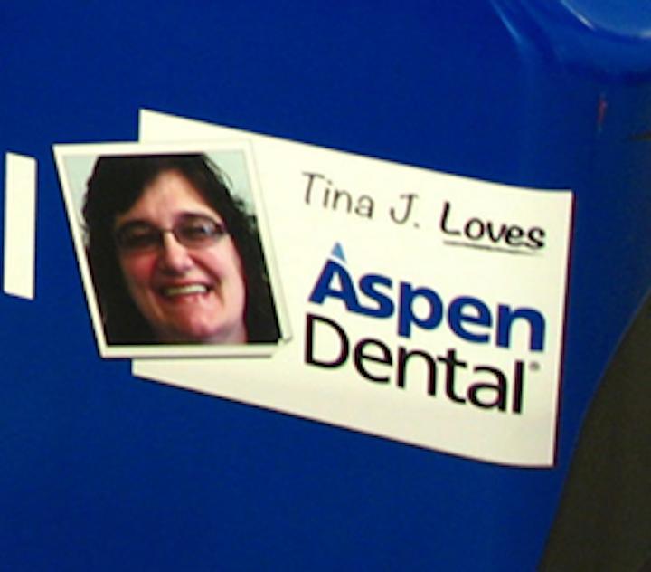 Aspen Dental patient featured on NASCAR driver Ryan Newman's