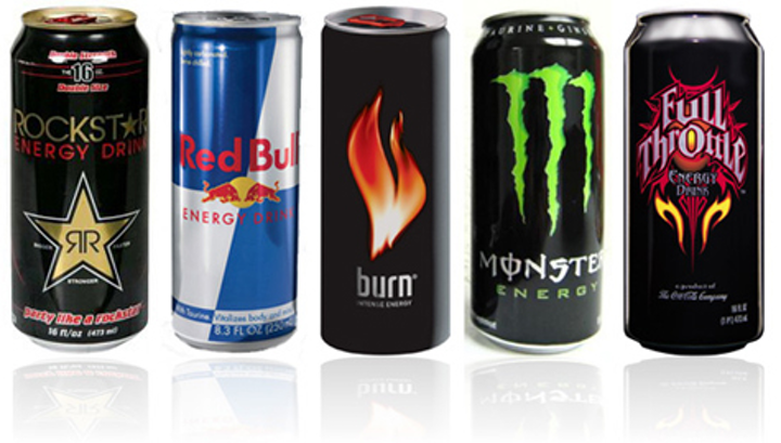 Cans Energy Drinks Fo