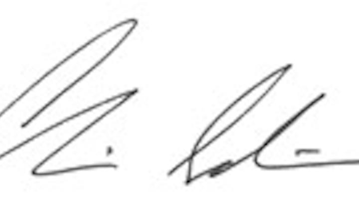 Chris Salierno Signature