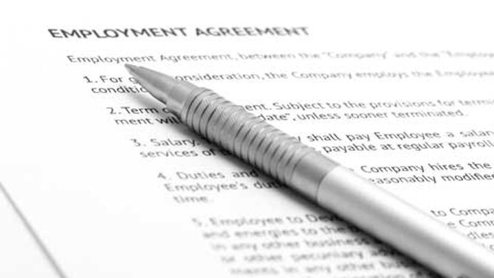 Dental Employee Contract