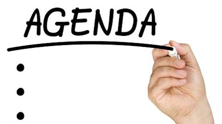 Dental Meeting Agenda