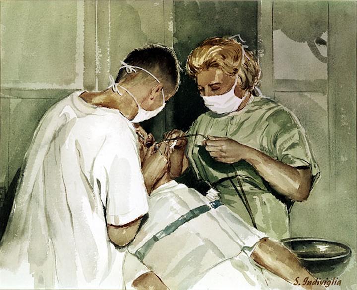 Dental Watercolor
