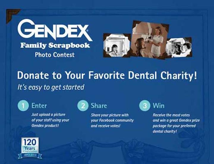 Gendex Enter Scrapbook Contest