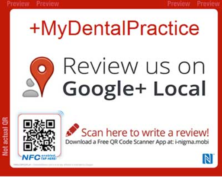 How your dental patients can leave you a review from their phone