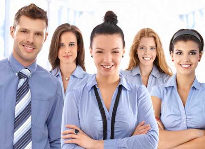 Happy Dental Office Team