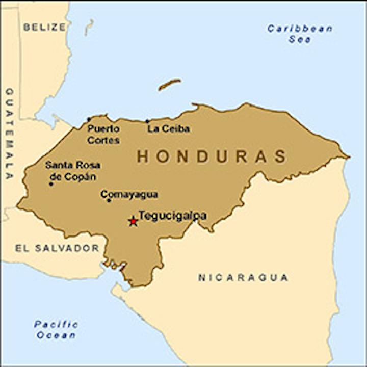 Map Honduras Fo