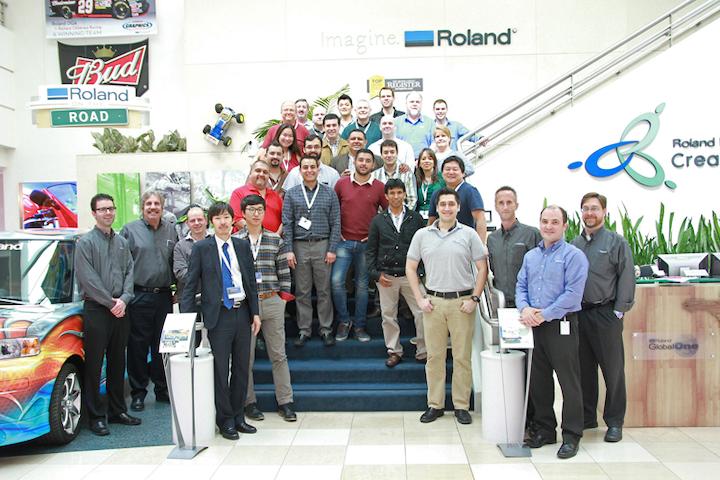 Roland Dental Dealer Training