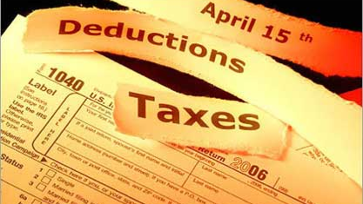 Tax Deductions Zgainer