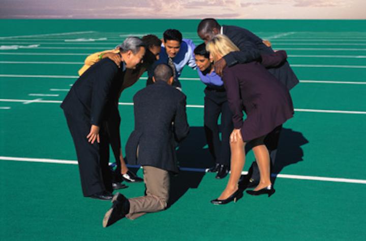 Team Huddle The Staff