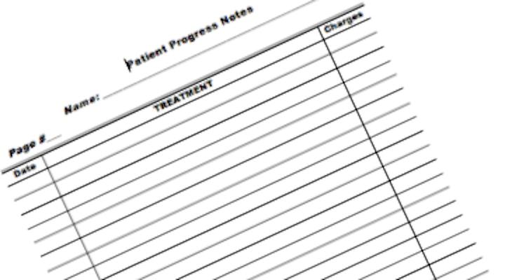 Patient Ledger Form 1