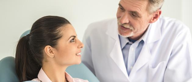 Dentist With Patient Copy