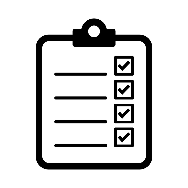 Downloadable dental form: DA daily, weekly, and monthly